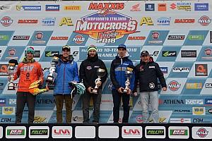 Motocross Italiano Gara Lupino e Tropepe trionfano nella prima prova dell'Italiano Prestige