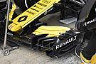 Renault испытала новое антикрыло и решила использовать его в гонках