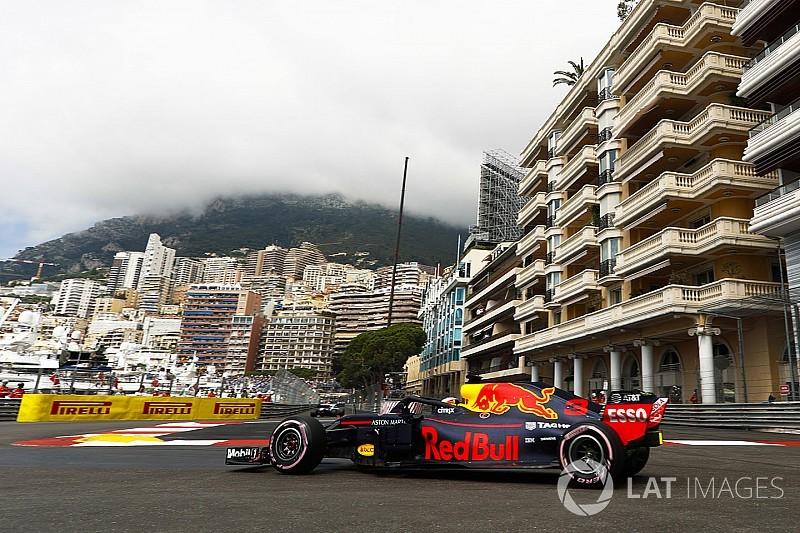 Monaco GP: Ricciardo leads Red Bull 1-2 in FP1