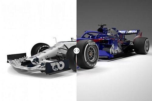 Vergleich Formel-1-Autos 2020 vs. 2019: AlphaTauri