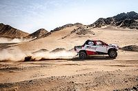 Alonso naar podium in Cross-Country Rally