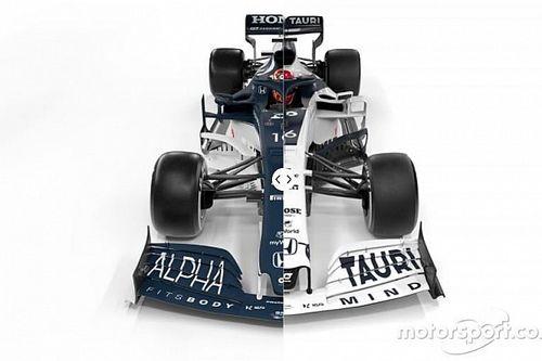 Vergleich Formel-1-Autos 2021 vs. 2020: AlphaTauri