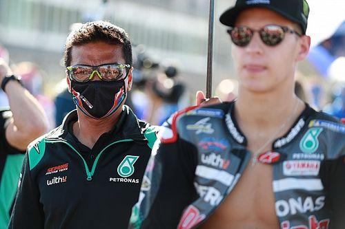 """MotoGP: Chefe da Petronas acredita que Fabio Quartararo """"deve se acalmar"""" para garantir melhores resultados"""