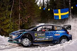 Teemu Suninen toma el liderato el viernes en Suecia
