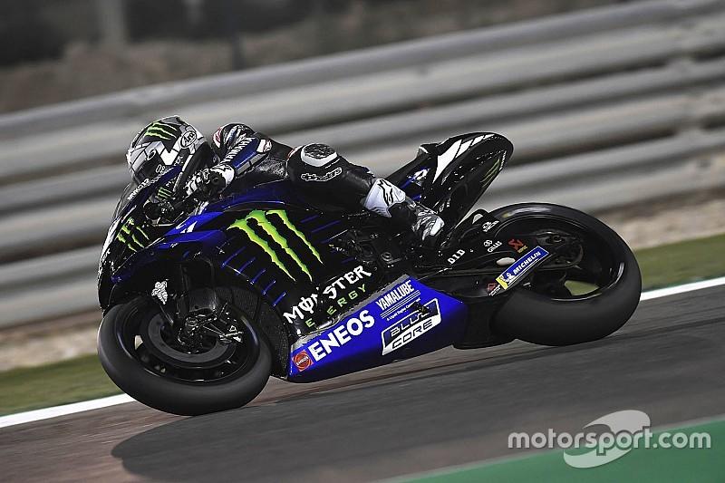 Test MotoGP Losail, Giorno 3: Vinales e Quartararo firmano l'1-2 Yamaha alle ore 20