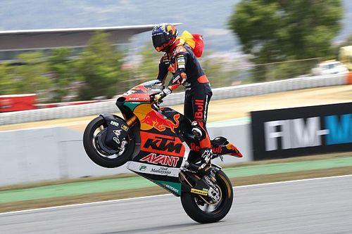 Raúl Fernández no quiere subir a MotoGP en 2022, dice KTM