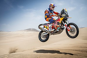 The trick that helped injured Price conquer Dakar