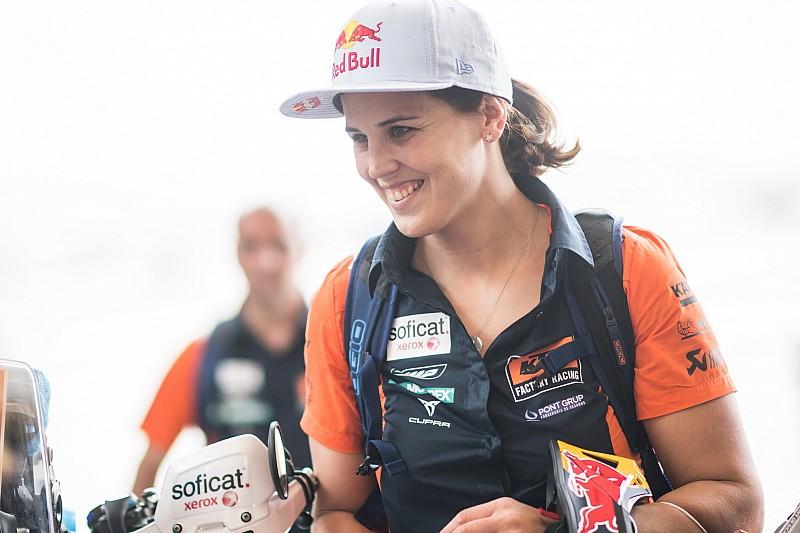 "Sanz ""very surprised"" to complete ninth straight Dakar"