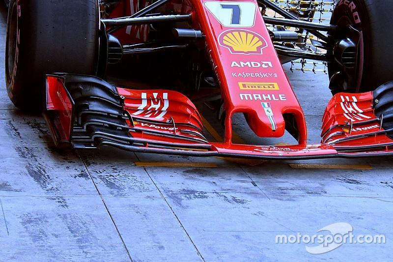 Ferrari'nin 2019 ön kanadıyla testi, kısıtlı veri sağlayacak