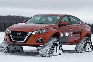 Сніг не перешкода. Nissan створив гусеничний седан Altima-te AWD