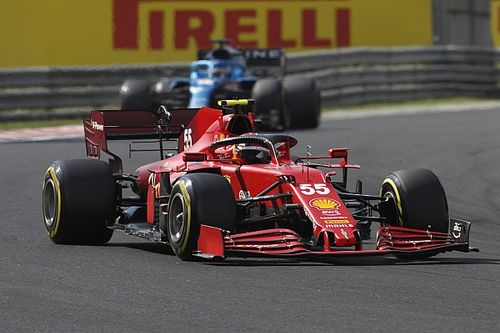Ferrari: Sainz right to question F1 strategy during Hungarian GP