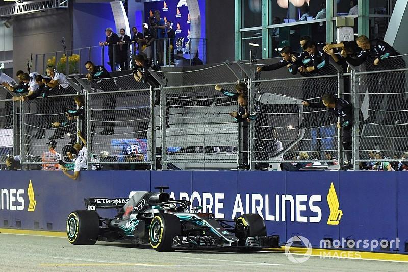 Singapur GP: En iyi takım telsiz mesajları