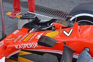 Formula 1 Analysis Tech analysis: Ferrari's chequered bid to seek downforce answers