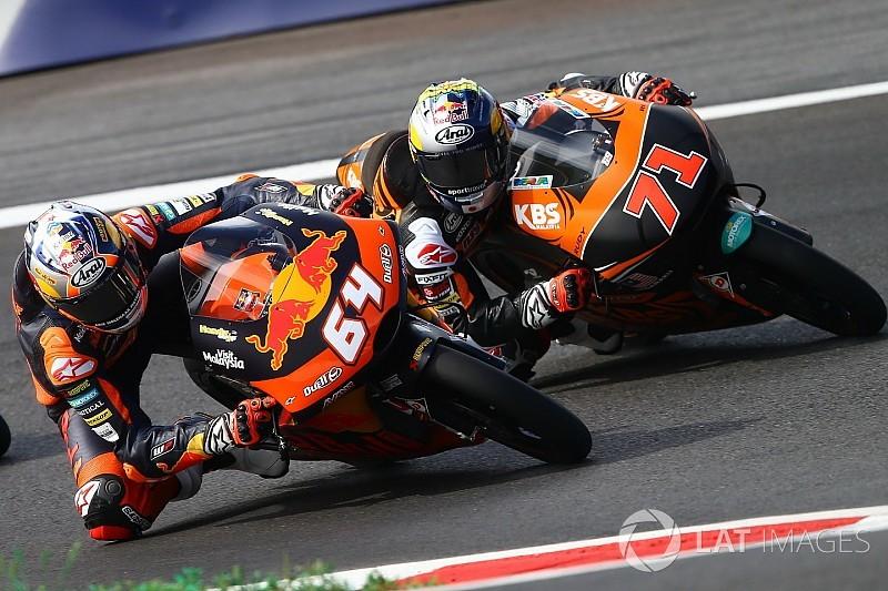 24 piloti di Moto3 multati di 500 euro al termine delle qualifiche!