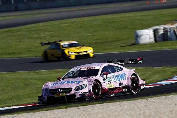 DTM Race report Lausitzring DTM: Auer extends points lead with comfortable win