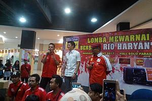 Formula 1 Breaking news Rio Haryanto gelar lomba mewarnai di Solo