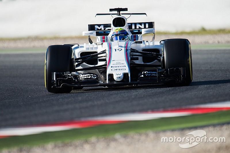 Massa pone al Williams adelante en la mañana del martes
