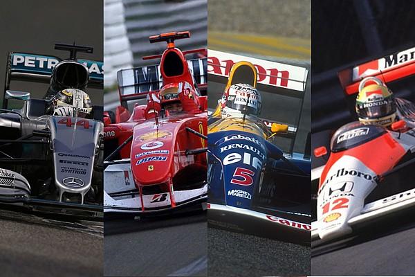 Les Formule 1 les plus victorieuses de l'Histoire
