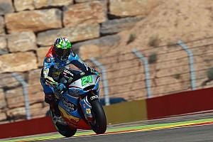 Moto2 Crónica de Carrera Morbidelli celebró en el final en Moto2