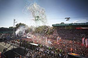 Formule 1 Actualités La F1 veut que l'exemple de Monza soit suivi par d'autres