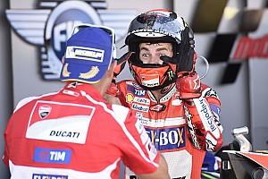 MotoGP Actualités Lorenzo a voulu quitter sa