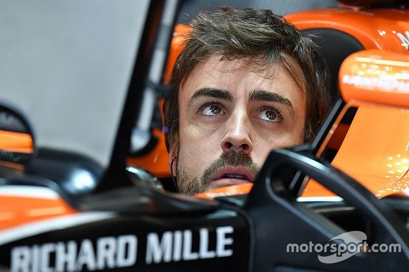 【F1】アロンソ、フェラーリ離脱後のF1生活に「満足している」