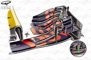 Formel 1 Analyse Formel-1-Technik: Die Updates am Red Bull RB13 in Silverstone