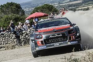 WRC BRÉKING  Onboard az Olasz Raliról: drón és árokba borult rivális