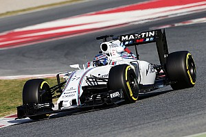 Formula 1 Testing report Barcelona F1 test: Bottas puts Williams on top, trouble for Haas