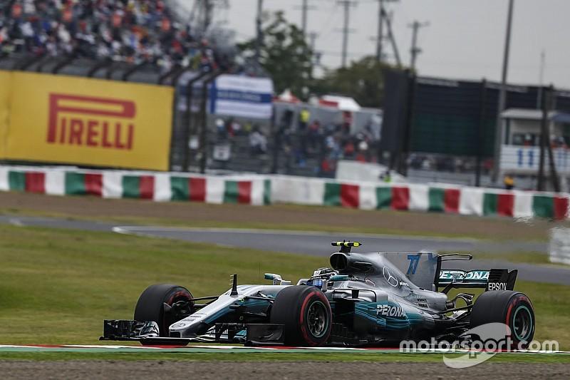Гран Прі Японії: Боттас ледь не побив рекорд кола на третій практиці