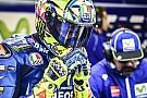 Pas assez rapide sous la pluie, Rossi admet