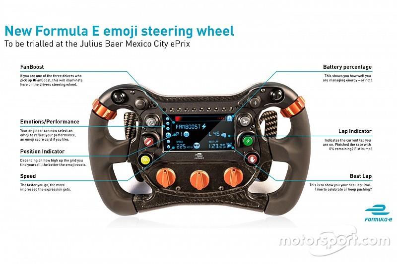 Formel E testet in Mexiko Live-Emoji-Technologie