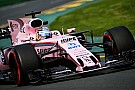 И все-таки она розовая. Первые фото Force India на трассе
