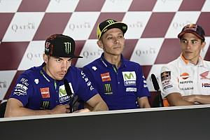 MotoGP Breaking news Vinales insists he's used to pressure of being