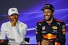 Hamilton: Seria um privilégio ser companheiro de Ricciardo