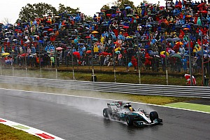 F1 Reporte de calificación Hamilton se impone en lluvia ante la debacle de Ferrari en casa
