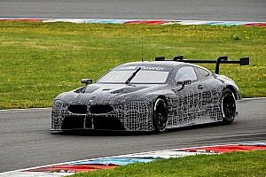 WEC Son dakika BMW M8 GTE Lausitz'de üç günlük test tamamladı