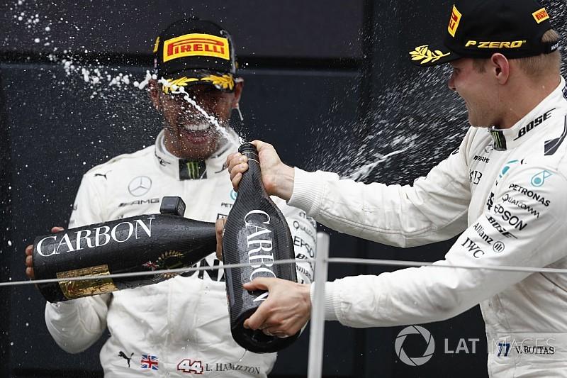 Que champagne usan en la formula 1