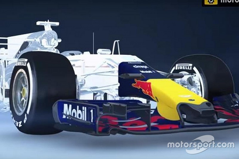 Video: Der flexible Frontflügel am Red Bull RB13