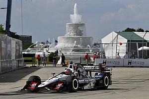 IndyCar Репортаж з кваліфікації IndyCar у Детройті: Рейхол стартуватиме з поулу в першій гонці