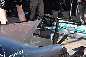 Formel-1-Technik: Mercedes' Trick mit der Motorhauben-Finne