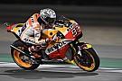 Márquez lidera el warm up en Qatar antes de caerse