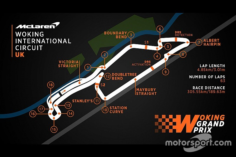 McLaren beweist Humor: Plan für F1-Grand-Prix in Woking