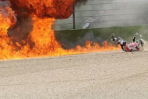 World Superbike Crónica de Carrera Davies gana en Imola una carrera acortada por el accidente de Laverty