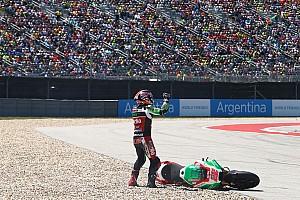 MotoGP Новость Взаимные упреки и угроза увольнения. Что происходит у Лоуса с Aprilia?