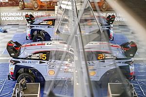 WRC Preview Neuville et Sordo dans le jardin de Hyundai