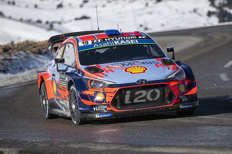 Hyundai ha ufficializzato i 3 equipaggi che correranno al Rally di Svezia 2019