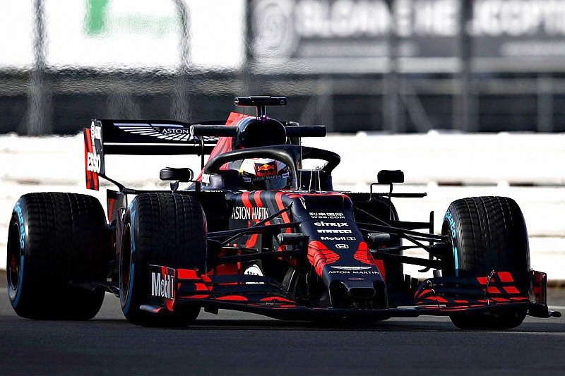 Red Bull reveals its first Honda-powered F1 car