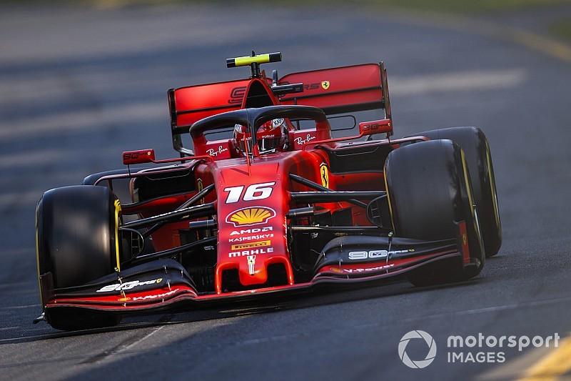 Kendi performansını eleştiren Leclerc: Mercedes'le aradaki fark