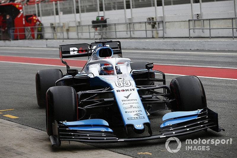 Williams: el retraso del auto resulta